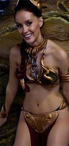 Meg Turney as Princess Leia