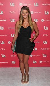 Amber Lancaster US Weekly Hot Hollywood Party on April 26, 2011