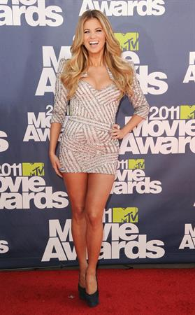 Amber Lancaster 2011 MTV Movie Awards in Los Angeles June 5, 2011