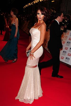 Amy Childs National Television Awards January 25, 2012
