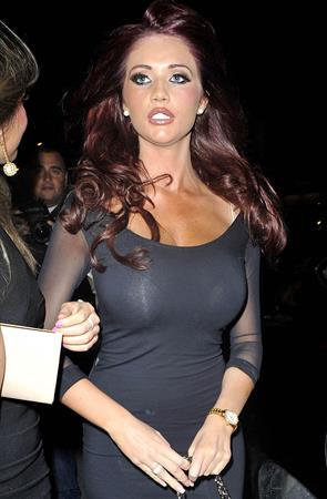 Amy Childs Sugar Hut Nightclub in Essex on April 27, 2012