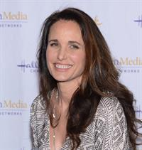Andie MacDowell Hallmark Movie Channels 2013 Winter TCA Press Gala The Huntington Library Gardens San Marino