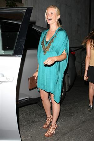 Amy Smart outside Nobu restaurant in Los Angeles on July 28, 2011