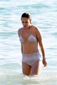 Rumer Willis in a bikini