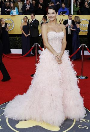 Angie Harmon 17th annual Screen Actors Guild Awards on January 30, 2011