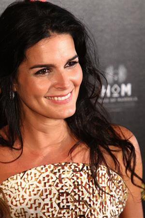 Angie Harmon 37th annual Gracie National Awards on May 22, 2012