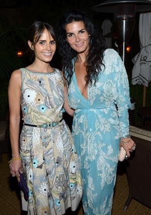 Angie Harmon - Naeem Khan Private Dinner at Chateau Marmont - May 2, 2012