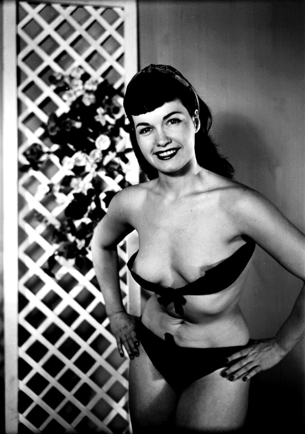 betty page nude