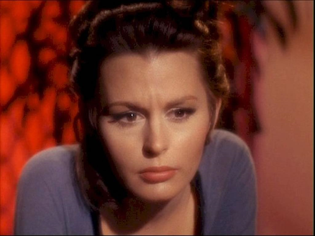 Marianna Hill was Dr. Helen Noel on the original Star Trek