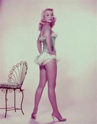Leslie Parrish in lingerie