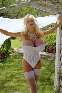 Sable Holiday in lingerie