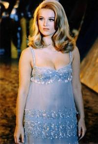 Barbara Bouchet in lingerie