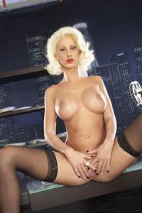 Krystal Steal - pussy and nipples