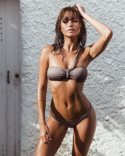 Beatriz Fernandez in a bikini