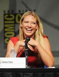 Anna Torv -  Fringe  press room at Comic-Con 2012 in San Diego (July 15, 2012)