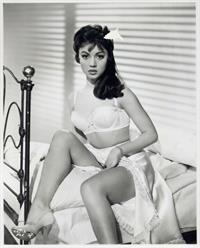Jocelyn Lane in lingerie