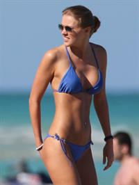 Deimante Guobyte in a bikini