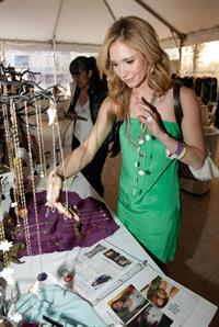 Ashley Jones Kari Feinsteins Academy Awards Style Lounge in Beverly Hills  on February 24, 2011