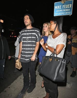 Ashley Benson Boa Restaurant in Beverly Hills on August 10, 2011