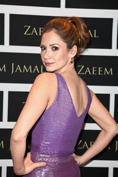 Ashley Jones at Zaeem Jamal Boutique Launch Los Angeles on March 28, 2012