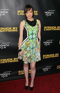 Ashley Rickards Los Angeles Premiere, Jan 6, 2013