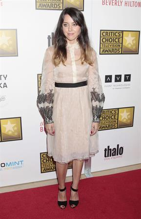 Aubrey Plaza - 2nd Annual Critics Choice Awards in Beverly Hills (June 18, 2012)