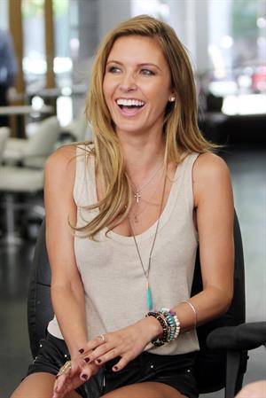 Audrina Patridge - Inside Gavert Atelier Salon in Beverly Hills August 22, 2012