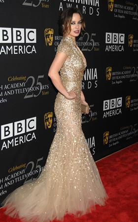 Berenice Marlohe BAFTA Los Angeles 2012 Brittania Awards 11/7/12