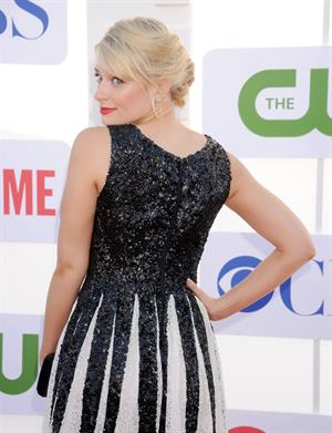 Beth Behrs arrives at the 2012 TCA Summer Tour - CBS, Showtime And The CW Party at 9900 Wilshire Blvd on July 29, 2012 in Beverly Hills, California