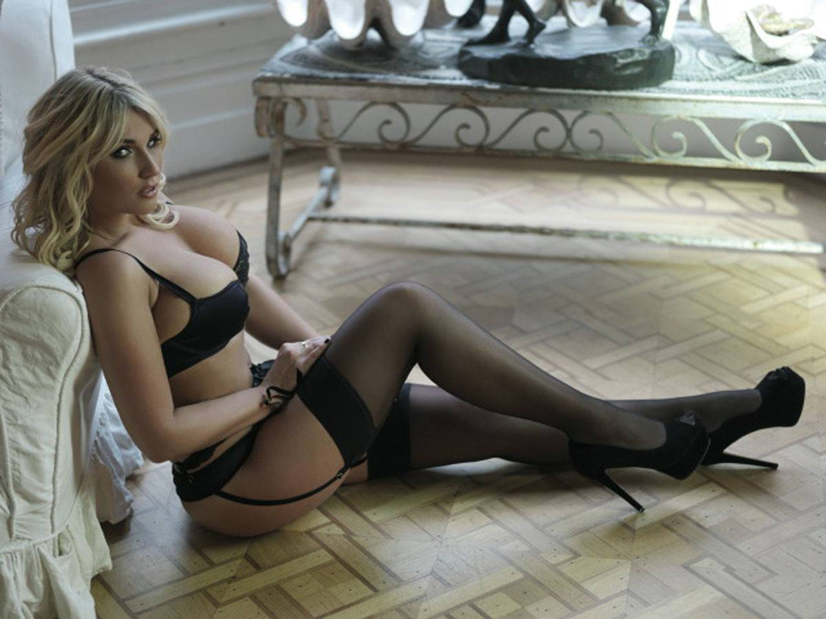 Billie Faiers Nuts Magazine Lingerie Photoshoot