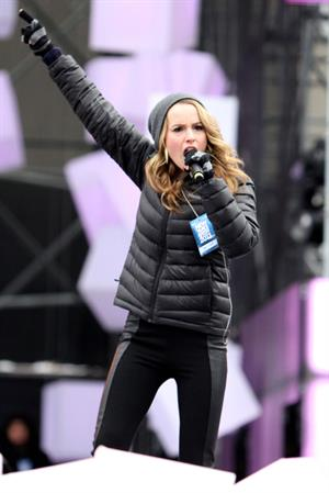 Bridgit Mendler soundcheck at CityTV in Toronto 12/31/12