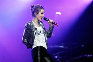 Bridgit Mendler Power 96.1's 2012 Jingle Ball at the Philips Arena in Atlanta 12/12/12