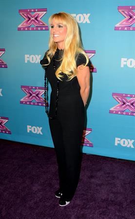 Britney Spears FOX's The Factor Season Finale Night 1 in LA 12/19/12