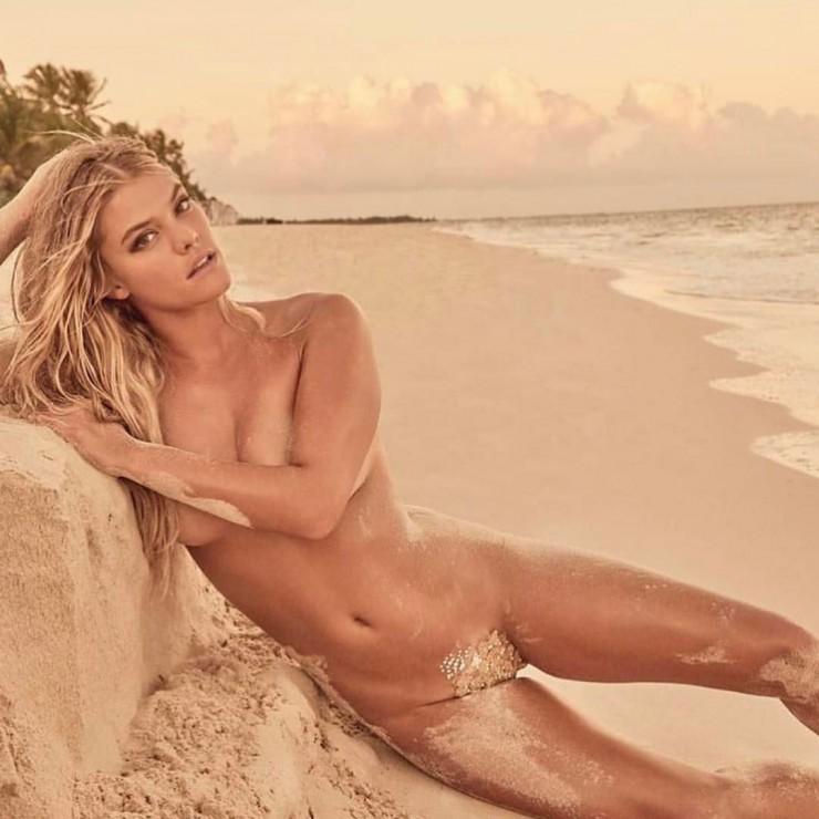 Nina agdal topless