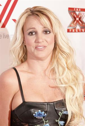 Britney Spears Factor viewing party in West Hollywood 12/6/12