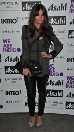 Brooke Vincent Clothing Launch at the Intro Club - October 4, 2012
