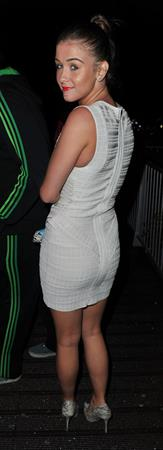Brooke Vincent - Birthday celebrations in Manchester, June 8, 2012