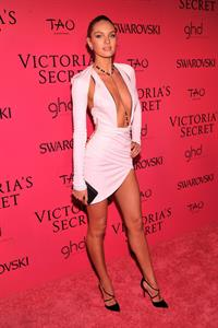 Candice Swanepoel Victoria's Secret Fashion after party at TAO Downtown New York City, November 13, 2013