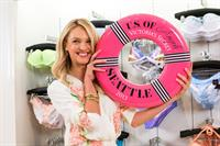 Candice Swanepoel Victoria's Secret U.S. Of Angels Swim Summer Tour Stops In Bellevue, Washington on July 10, 2013