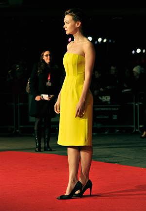 "Carey Mulligan ""Inside Llewyn Davis"" screening at the BFI Film Festival in London, October 15, 2013"