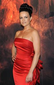 Carla Gugino the 'Race to Witch Mountain' premiere the Callao cinema in Madrid, Spain
