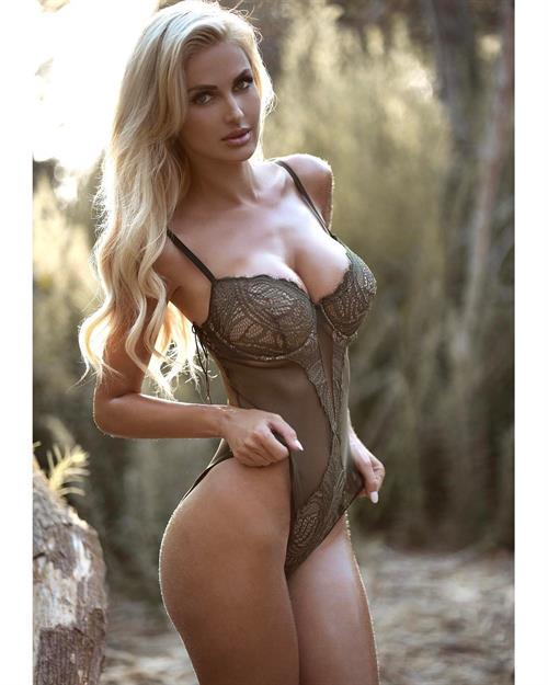 Leanna Bartlett in lingerie