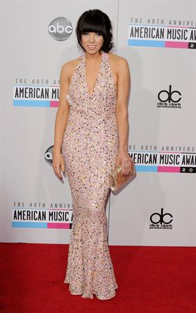 Carly Rae Jepsen American Music Awards (November 18, 2012)