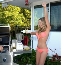 Carmen Electra. Hot in her A.M./SVEDKA bikini shoot
