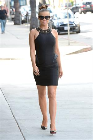 Carmen Electra heads to a Meeting in Hollywood on November 9, 2012