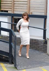 Carol Vorderman - Outside the London Studios in London (27.06.2013)