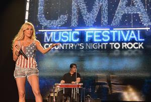 Carrie Underwood - CMA Music Festival in Nashville June 8, 2012