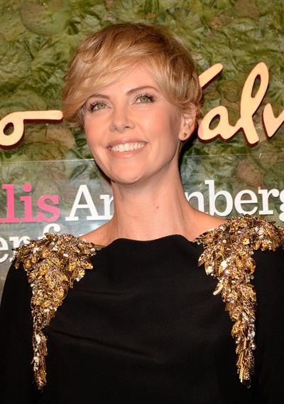 Charlize Theron Wallis Annenberg Performing Arts Gala in Beverly Hills, October 17, 2013
