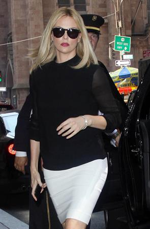 Charlize Theron - Out & About In NYC May 29, 2012