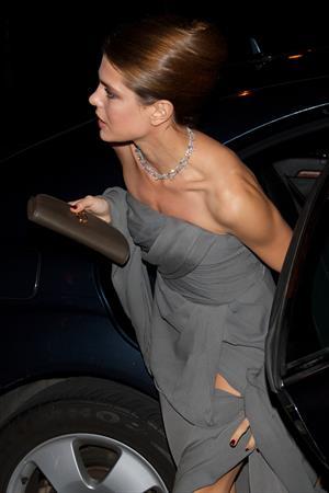 Charlotte Casiraghi Attends 'Cartier Ehibition' Gala Presentation in Madrid (Oct 22, 2012)